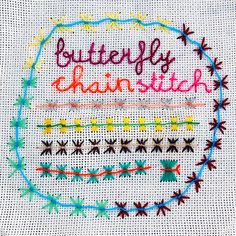 A nice gallery of embroidery stitches here!