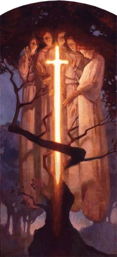 The Sun Sets on Eden by J. Kirk Richards