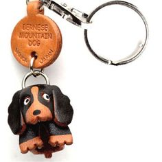 Bernese Mountain Dog Keychain, $15, now featured on Fab.