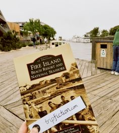 TripFiction pops up on FIRE ISLAND in New York. Courtesy J M Hewitt. Choose your next top read by location and get under the skin of a place, through the eyes of an author wwwtripfiction.com