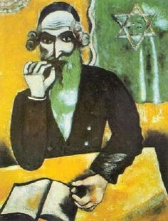 Rabbi: The Pinch Of Snuff. Marc Chagall