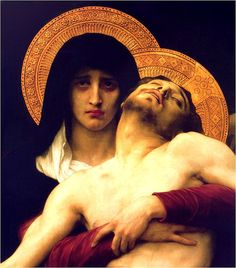 One of my favorite paintings from him, Our Lady of Sorrows.