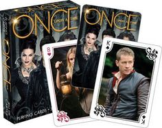 This official deck of playing cards includes all of your favorite Once Upon A Time characters from seasons 1 to 5.