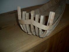 La poppa con i due mancoli in legno di ciliegio