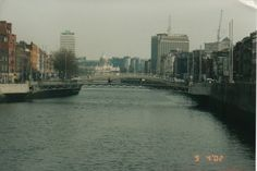 Looking towards the mouth of the River Liffey