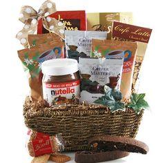 a7ad1b355bd8b Coffee   Nutella - Coffee Gift Basket