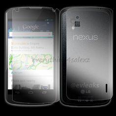 For LG Google Nexus 4 LCD FULL BODY Screen Protector Guard Film (Front + Back)