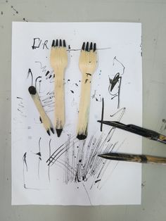 Drawing Tool - Mark making | Pinterest | Mark making, Drawing tools ...