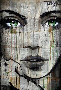 Risultati immagini per loui jover Portraits, Portrait Art, Amazing Street Art, Amazing Art, Illustrations, Illustration Art, Expressive Art, High Art, Art For Art Sake