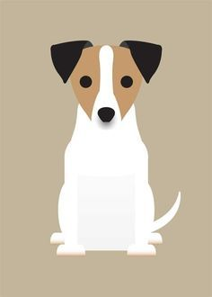 Dog Jack Russell Silhouette illustration | pet's | Pinterest ...