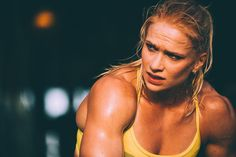 Annie Thorisdottir - Can't wait to watch her throw down at the Crossfit Games.