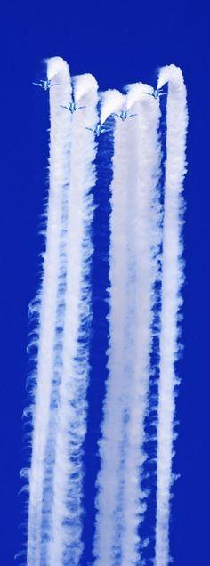 Blue Angels Air Show ~ Jet Contrails