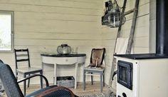 Scandinavian style fishing cottage at Finnish Archipelago.