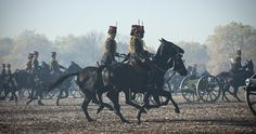In honour of His Royal Highness The Prince of Wales's birthday, The King's Troop Royal Horse Artillery (KTRHA), the saluting battery of Her Majesty's Household Division, fired a Gun Salute from Hyde Park at 12 midday on Wednesday 14th November.