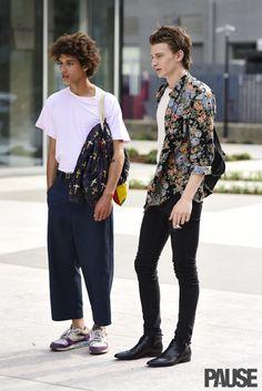 Mens Bohemian Fashion Floral Shirt Pinterest:@keraavlon