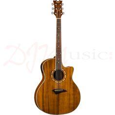 Dean Koa Exotica Electro Acoustic Guitar