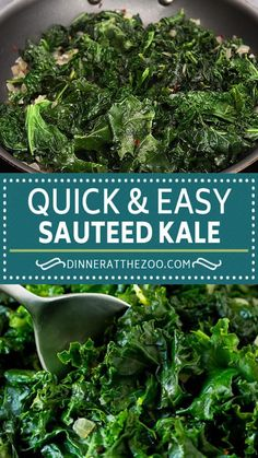 Veggie Side Dishes, Healthy Side Dishes, Vegetable Sides, Food Dishes, Simple Side Dishes, Chicken Side Dishes, Kale Dishes, Healthy Sides, Cooked Kale Recipes