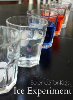 An easy science experiment for kids using ice, water, and salt.
