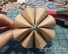 Whiff of Joy - Tutorials & Inspiration: Recycled snowflake decoration