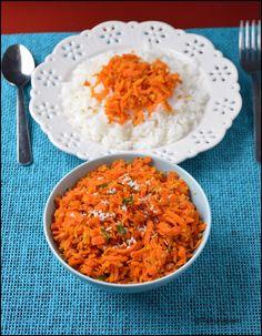 Carrot Curry ~ Tamalapaku