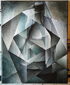 Cubist Bottle  by Brandon Allebach