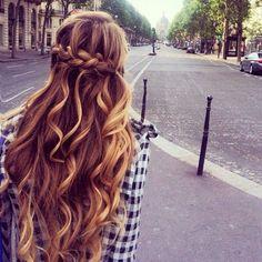 { hair :: braids + waves }
