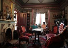 Victorian rooms | ... Victorian era. To accommodate both couples, the house boasts two front