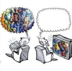 Reading encourages thinking