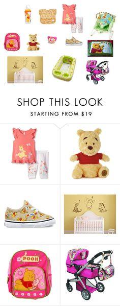 Winnie The Pooh Baby. Girl. Pink and Orange