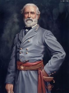 Gen Robert E Lee, military officer who is best known for having commanded the Confederate Army of Northern Virginia in the American Civil War. Member of Hiram Lodge Virginia Confederate Leaders, Confederate States Of America, American Civil War, American History, American Pride, General Robert E Lee, Middle School History, High School, Civil War Art