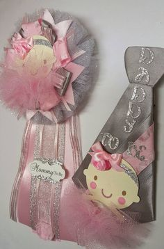 Check out this item in my Etsy shop https://www.etsy.com/listing/256868449/ballerina-mommy-to-be-corsage-daddy-pin