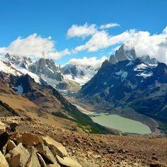 El Chalten w Santa Cruz (świetna baza wypadowa w najwyższe góry)