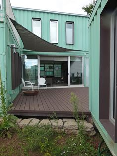 container house flagstaff | a residence made from recycled shipping containers
