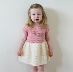crochet dress outfits Ravelry: Toddler Party Dress pattern by Pale Rose Crochet Crochet Dress Outfits, Crochet Toddler Dress, Crochet Beach Dress, Toddler Dress Patterns, Crochet Doll Dress, Crochet Girls, Crochet Clothes, Crochet Fashion, Little Girl Dresses