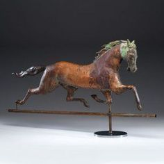 Running Horse Weathervane : Lot 754