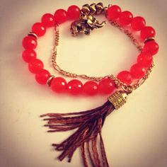 Elephant tassel  - click picture to purchase! - $32