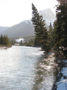 Amazing! Walking around Canmore in the morning was just so tranquil! #Canmore #Banff