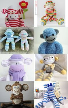 Love and Monkeys by Gail Amerson on Etsy--Pinned with TreasuryPin.com