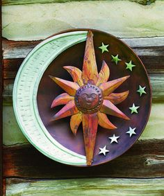 Another great find on #zulily! Raised Celestial Wall Hanging #zulilyfinds
