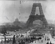 Eiffel's Construction, July 1888