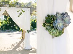 Santa Barbara Destination Wedding with succulents and a white and gold theme. Wedding Blog, Destination Wedding, Dream Wedding, Wedding Dreams, Pew Decorations, Wedding Decorations, Wedding Altars, Wedding Ceremony, Floral Wedding