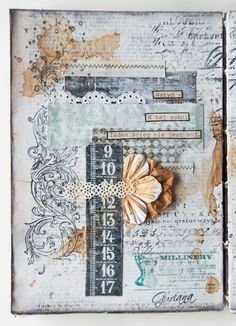 Guria: art journal collage