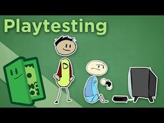Playtesting - How to Get Good Feedback on Your Game - Extra Credits - YouTube