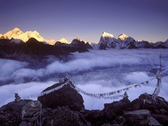 On top of the world... Everest, Nepal.
