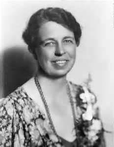 Eleanor Roosevelt, orphaned at ten, married her distant cousin, Franklin D. Roosevelt (president 1933 - 1945).