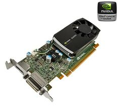 Carte graphique NVIDIA Quadro 400 PNY, 512 Mo DDR3 DVI, DisplayPort, PCIe 2.0