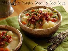 My Favorite Things: Oktoberfest Potato, Bacon & Beer Soup