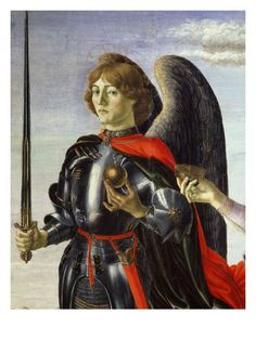 What did Da Vinci look like as a young apprentice?  Here he appears as the model in a religious work by Sandro Boticelli known as Tobias and the Three Archangels.  He had light brown hair, beautiful blue eyes, and incredible facial features.  See the complete painting @ http://upload.wikimedia.org/wikipedia/en/1/1a/Tobias_and_the_Three_Archangels.jpg