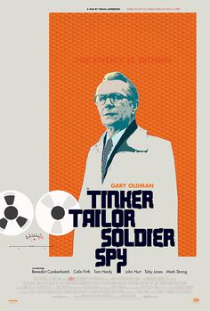 Alternative poster for the theatrical release of Tinker Tailor Soldier Spy. Although I prefer the Alec Guinness version from Tinker Tailor Soldier Spy, Alec Guinness, Gary Oldman, Alternative Movie Posters, Moving Pictures, Film Posters, Great Movies, Poster Prints, Graphic Design
