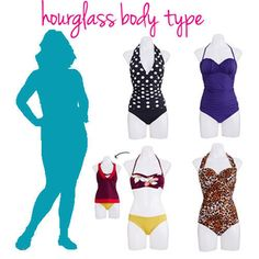 Fashion Decoded: Find the Best Swimsuit for Your Body Type! | Hourglass Body Type | AllYou.com